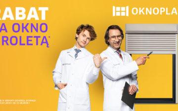 Wakacyjna promocja OKNOPLAST na zakup okien z roletami